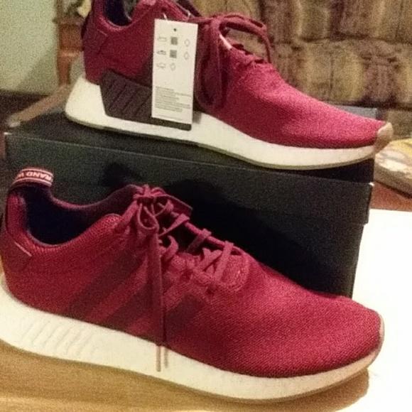 adidas Shoes   Mens Burgundy   Poshmark